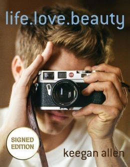 keegan allen signed book