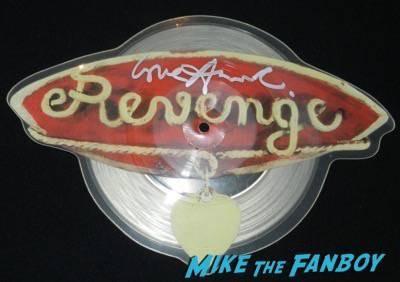 Annie Lennox signed autograph revenge shaped picture disc