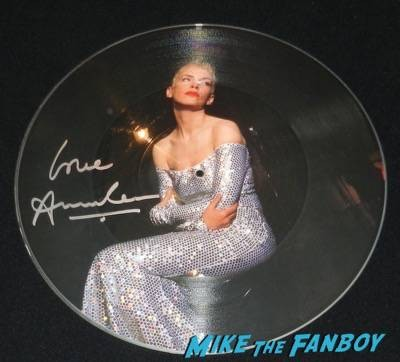 Annie Lennox signed autograph tell me why picture disc eurythmics