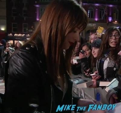 Fifty Shades of Grey London Premiere Jamie Dornan Signing autographs 15