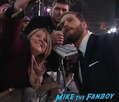 Fifty Shades of Grey London Premiere Jamie Dornan Signing autographs 23