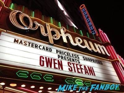 Gwen Stefani livin in concert Orpheum Theater in Los Angeles1