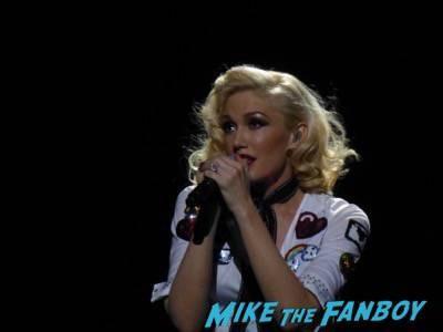 Gwen Stefani livin in concert Orpheum Theater in Los Angeles11