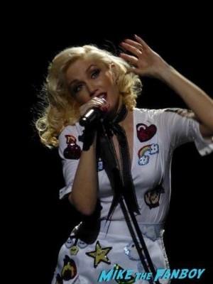 Gwen Stefani livin in concert Orpheum Theater in Los Angeles12