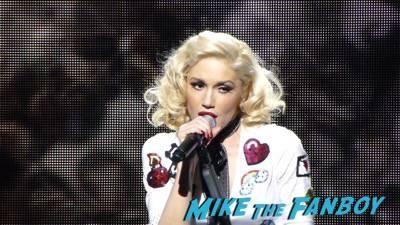 Gwen Stefani livin in concert Orpheum Theater in Los Angeles14