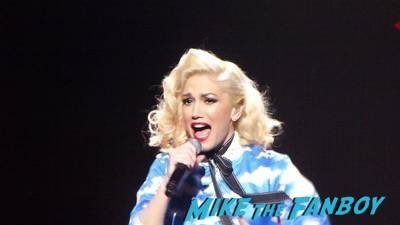 Gwen Stefani livin in concert Orpheum Theater in Los Angeles4