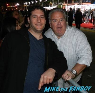 jim o'heir fan photo Hot Tub Time Machine 2 premiere signing autographs adam scott 23