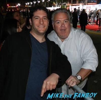 jim o'heir fan photo Hot Tub Time Machine 2 premiere signing autographs adam scott 23