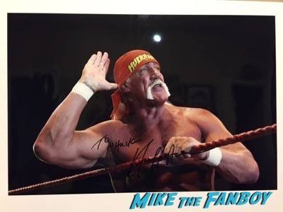 hulk hogan fan photo 2015 signing autographs
