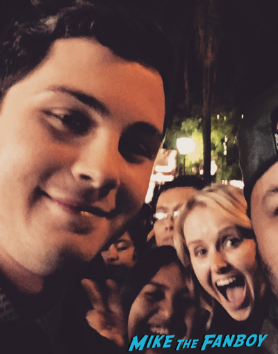 Logan Lerman fan photo rare santa barbara film festival 2