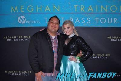 Meghan Trainor meet and greet los angeles ca autograph1
