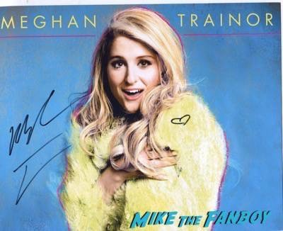 Meghan Trainor meet and greet los angeles ca autograph1