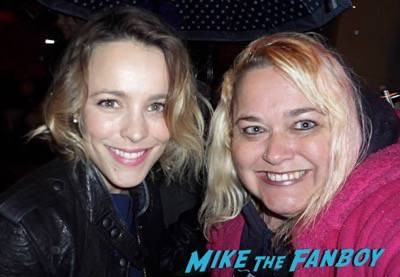 Rachel McAdams fan photo selfie rare 1