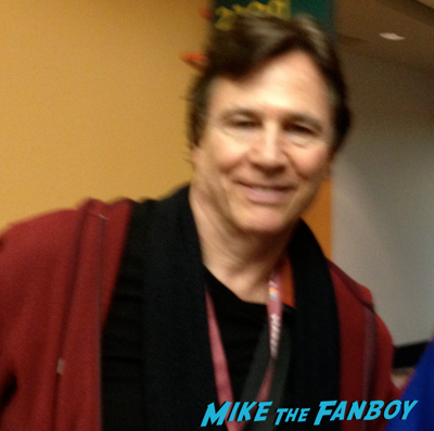 Richard Hatch fan photo selfie photo flop battlestar Galactica 2