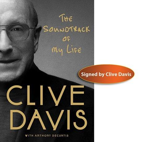 clive davis signed book