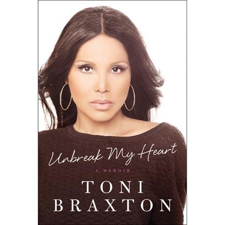 toni braxton signed book