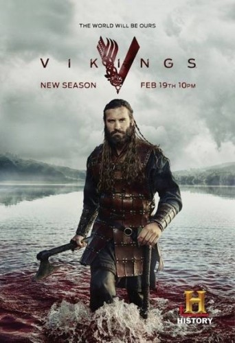 Vikings season 3 clive standen rollo character poster 2