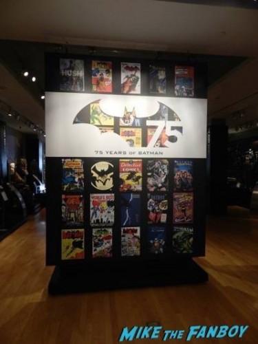 Warner Bros Batman prop and costume display musuem 11