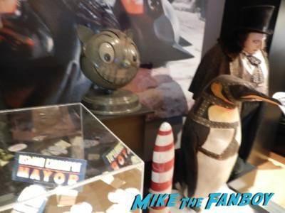 Warner Bros Batman prop and costume display musuem 13