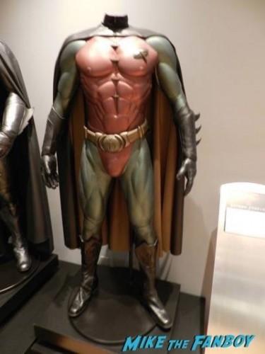 Warner Bros Batman prop and costume display musuem 16