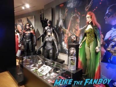 Warner Bros Batman prop and costume display musuem 18