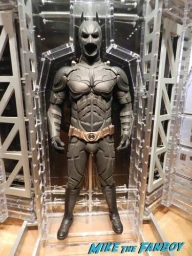 Warner Bros Batman prop and costume display musuem 2