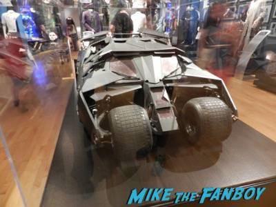 Warner Bros Batman prop and costume display musuem 3