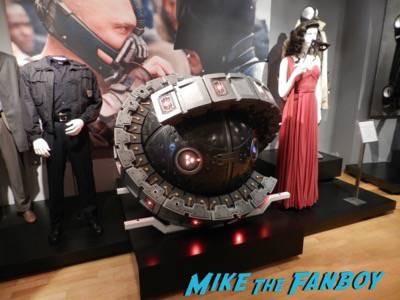 Warner Bros Batman prop and costume display musuem 5