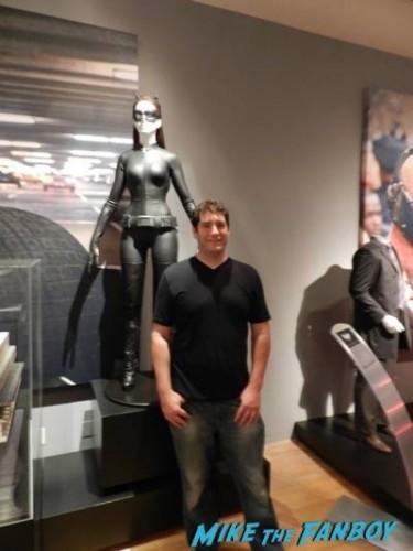 Warner Bros Batman prop and costume display musuem 6