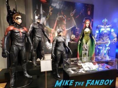 Warner Bros Batman prop and costume display musuem 7