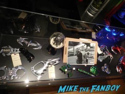 Warner Bros Batman prop and costume display musuem 8