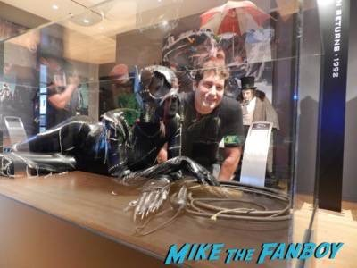 Warner Bros Batman prop and costume display musuem 9