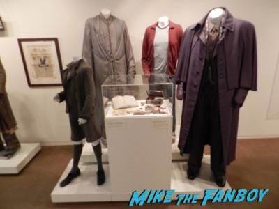 Warner Bros Harry Potter  prop and costume display musuem 13