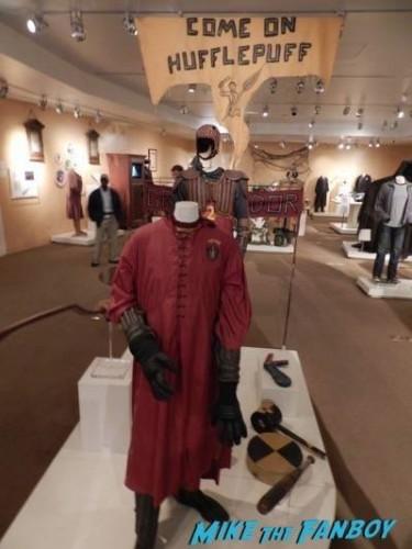 Warner Bros Harry Potter  prop and costume display musuem 14