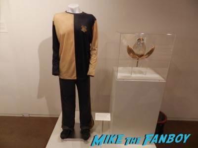 Warner Bros Harry Potter  prop and costume display musuem 26