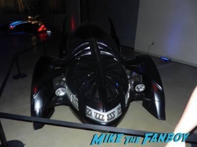 Warner Bros backlot batman car display 1