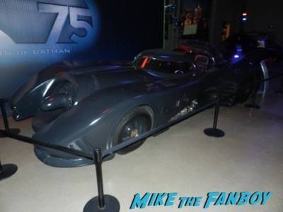 Warner Bros backlot batman car display 2