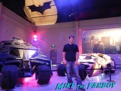 Warner Bros backlot batman car display 3