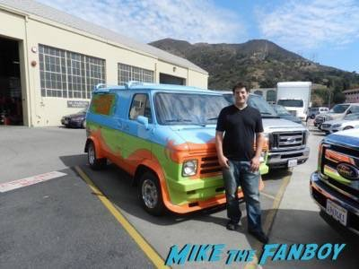 Warner Bros backlot scooby doo mystery machine 1