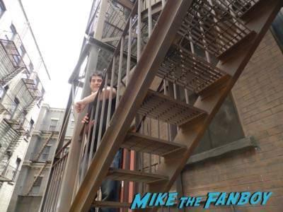 Warner Bros backlot urban street spider man filming location 4