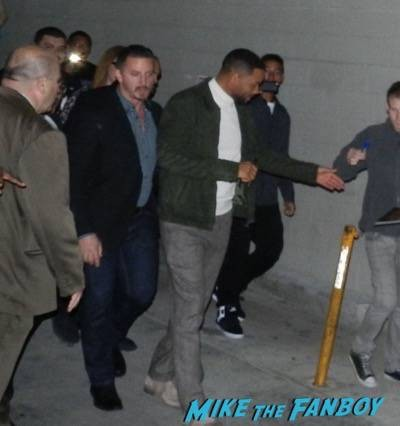 Will Smith signing autographs jimmy kimmel live 2015 ID4 8
