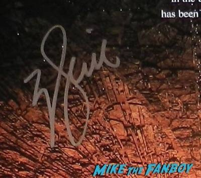 Will Smith signed autograph signing autographs jimmy kimmel live 2015 ID4 18