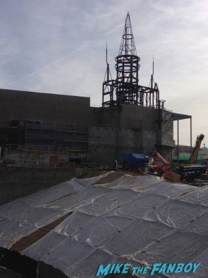 Wizarding World Of Harry Potter Construction photos Universal los angeles 1