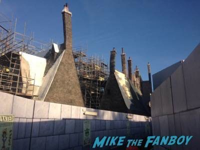 Wizarding World Of Harry Potter Construction photos Universal los angeles 2
