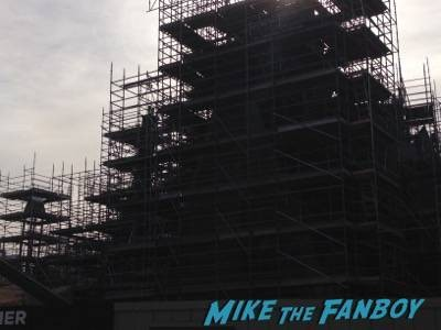 Wizarding World Of Harry Potter Construction photos Universal los angeles 6