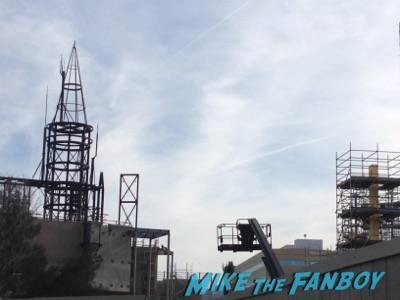 Wizarding World Of Harry Potter Construction photos Universal los angeles 8