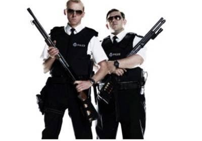 hot fuzz fabulous duos photos 4