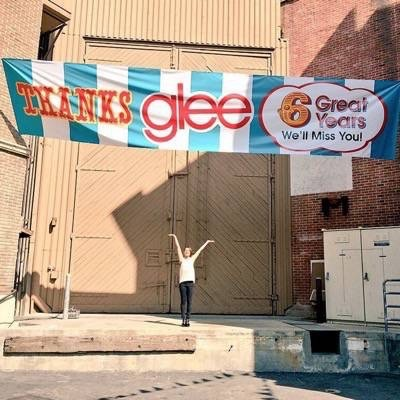 lea michelle glee set photos behind the scenes 2