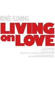 living on love broadway poster