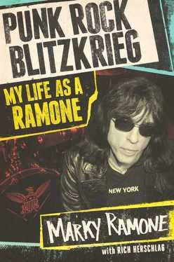 marky ramone signed book